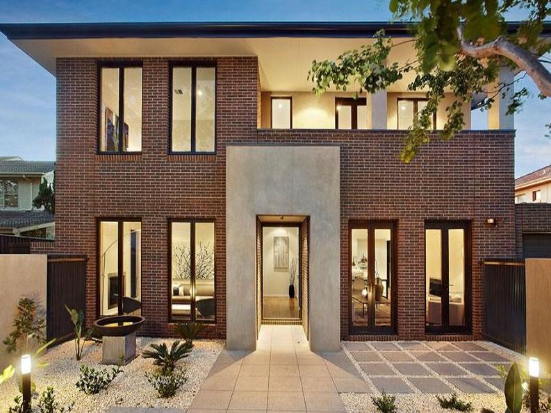 fachadas-de-casas-con-tabique-rojo-aparente
