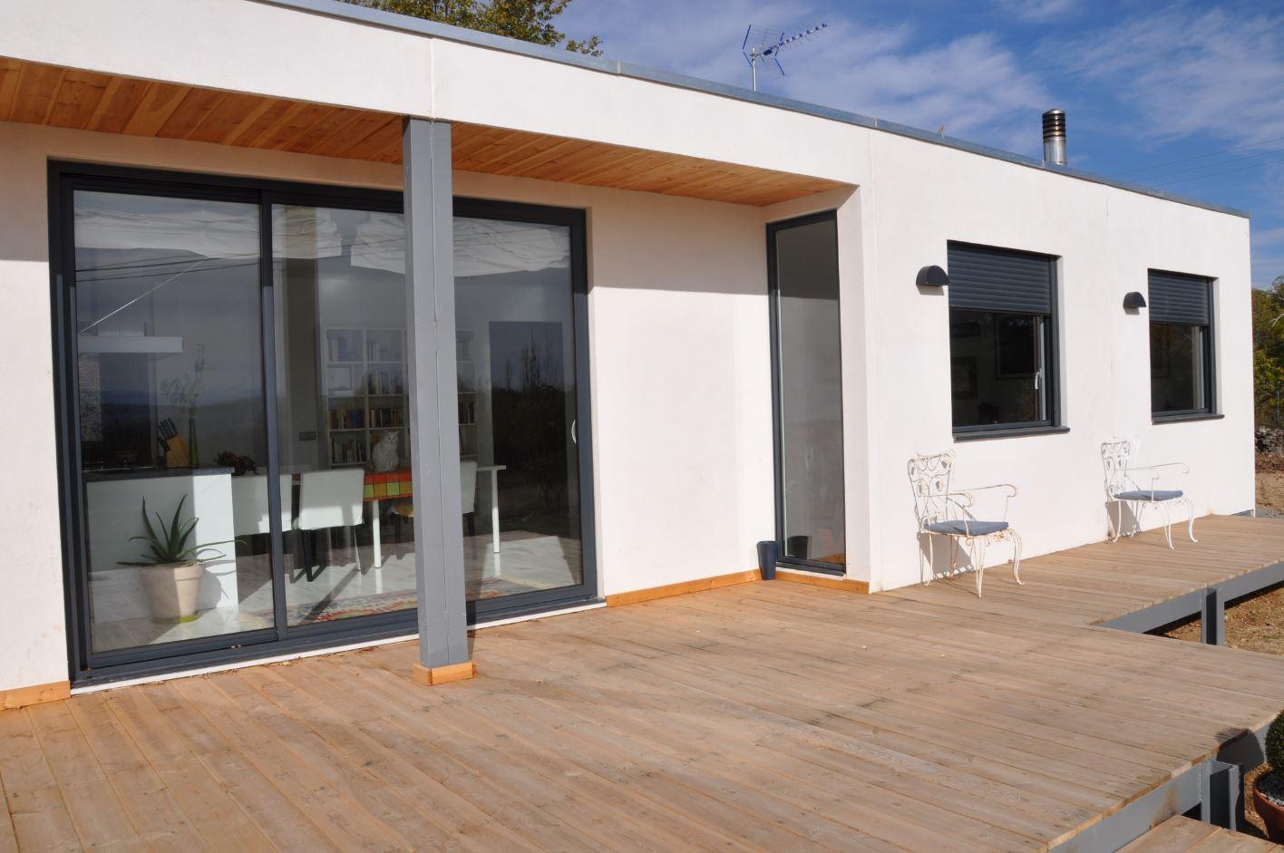 Fachadas de casas prefabricadas - Viviendas prefabricadas ...