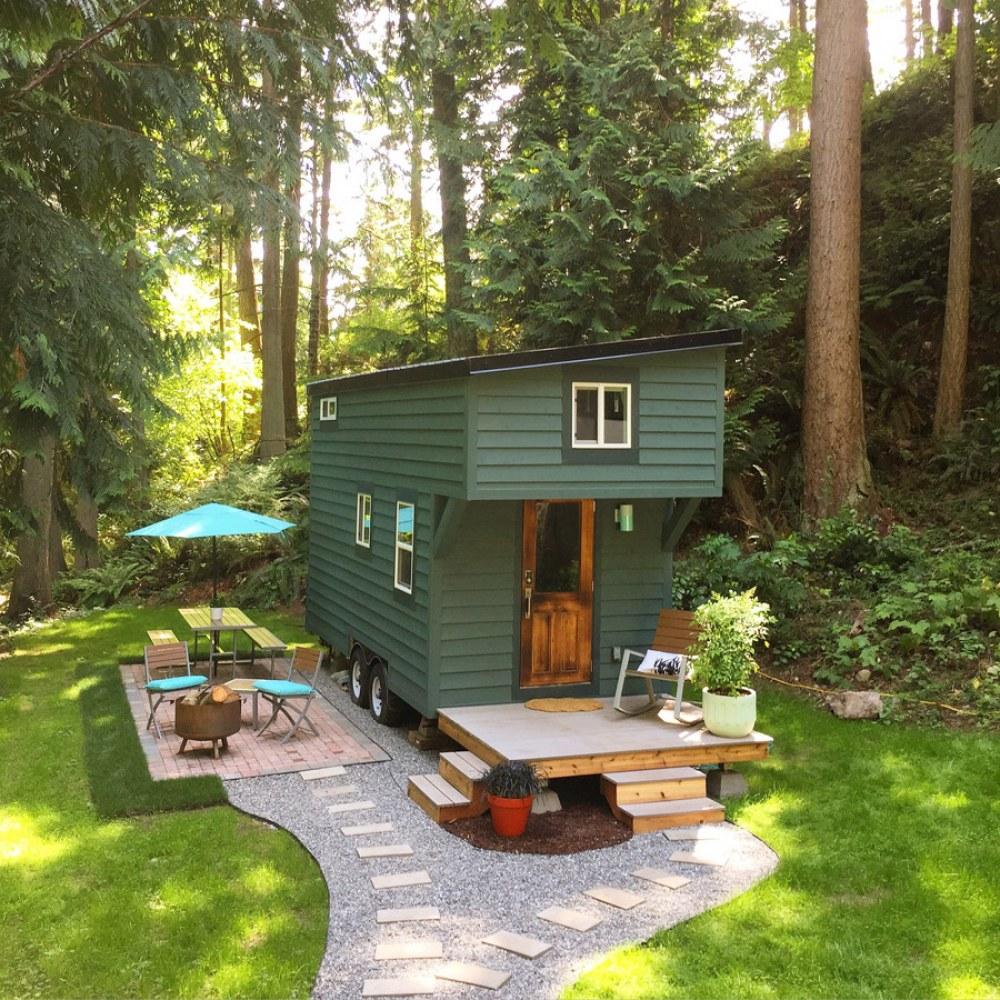 Fachadas de casas de madera - Casas muy pequenas ...