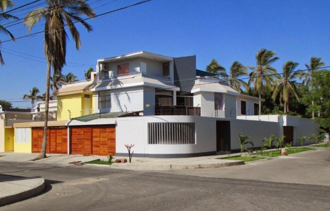 Fachada minimalistas en esquina holidays oo for Fachada de casas