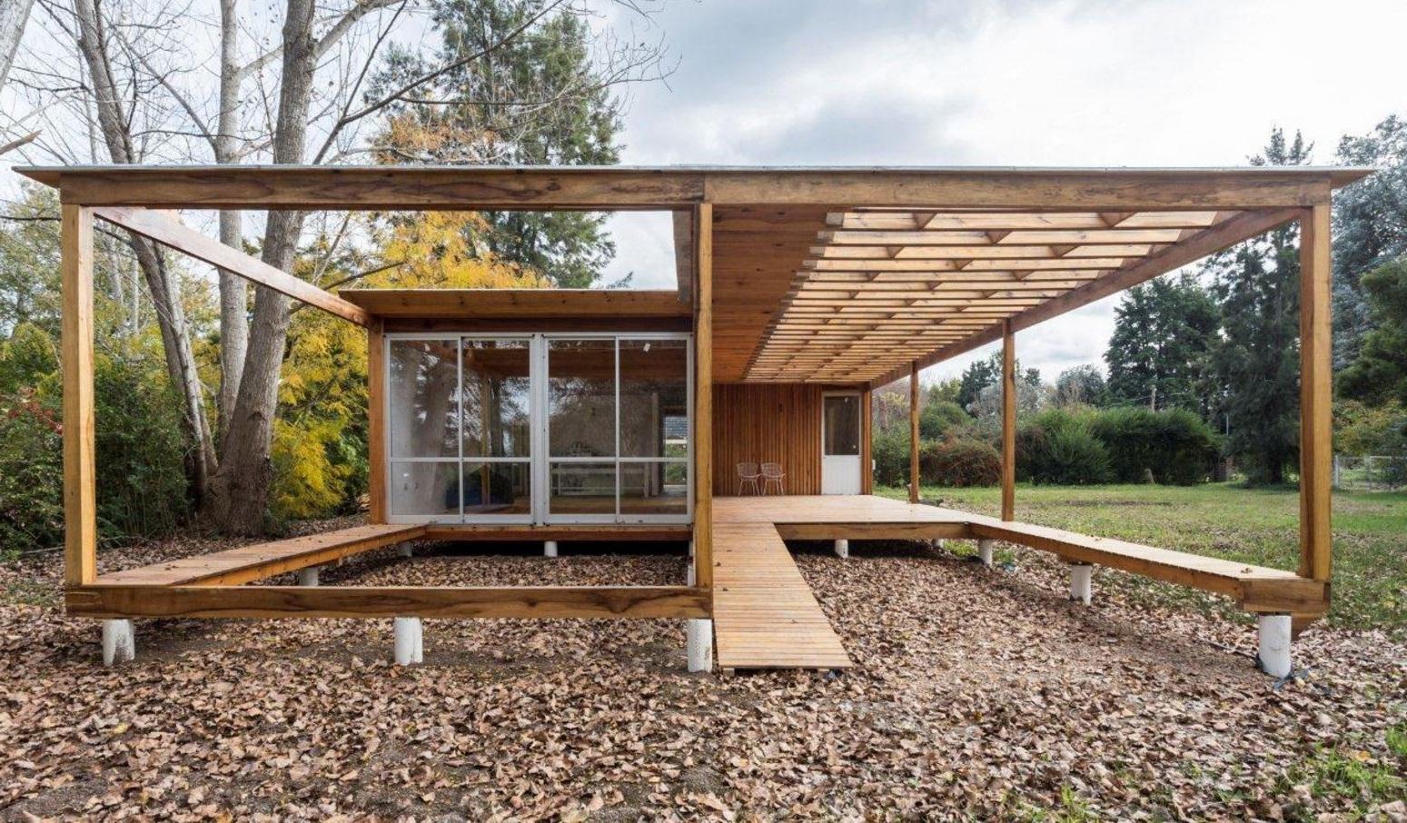 Fachadas de casas de madera for Modelos de viviendas