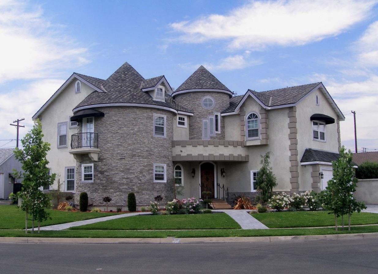 Fachadas de casas en esquinas - Fachadas grandes ...