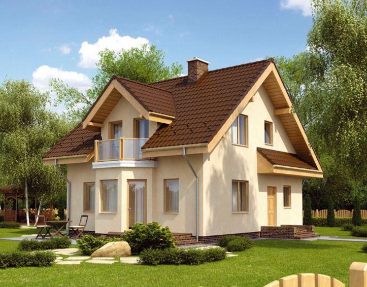 Fachadas de casas bonitas con planos for Planos de casas lindas