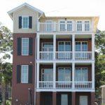 Fachadas para casas de cuatro pisos
