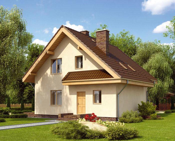 Fachadas de casas bonitas con planos for Fachadas de casas con teja