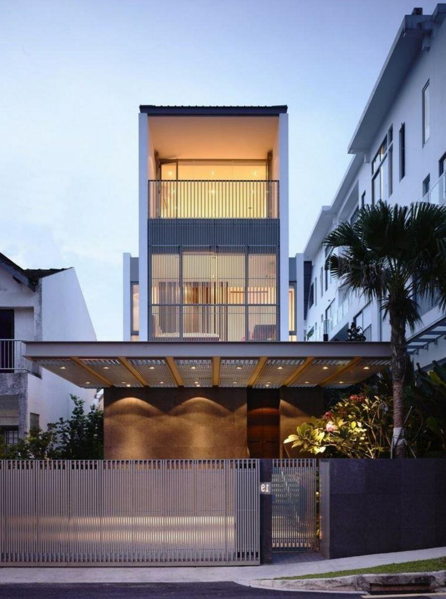 Ver fachadas de casas fachadas de casas estilos de for Modelos de casas minimalistas pequenas