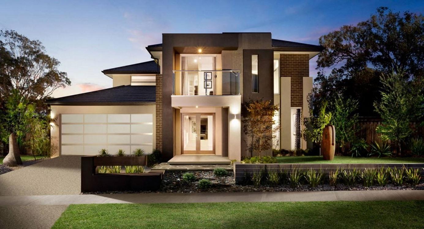 Fachadas de casas de 2 pisos part 4 for Casas modernas de 80 metros
