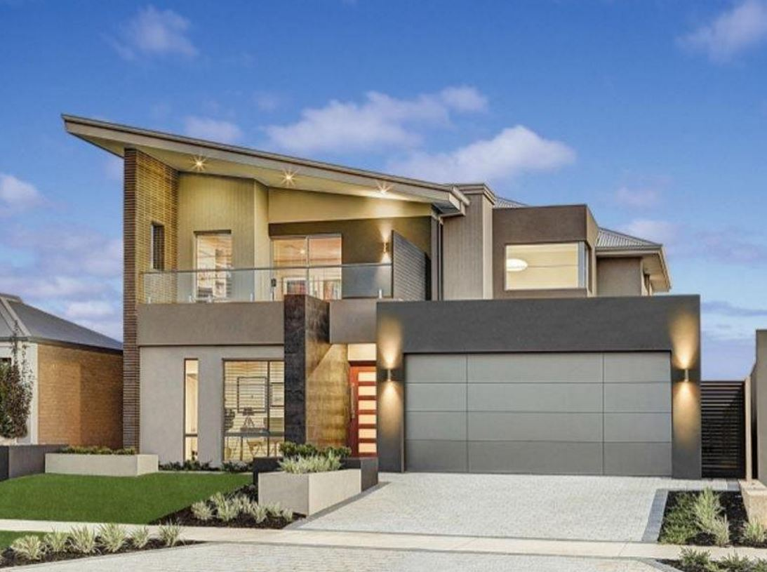 Fachadas modernas de casas de 2 plantas for Modelos de casas de una planta modernas