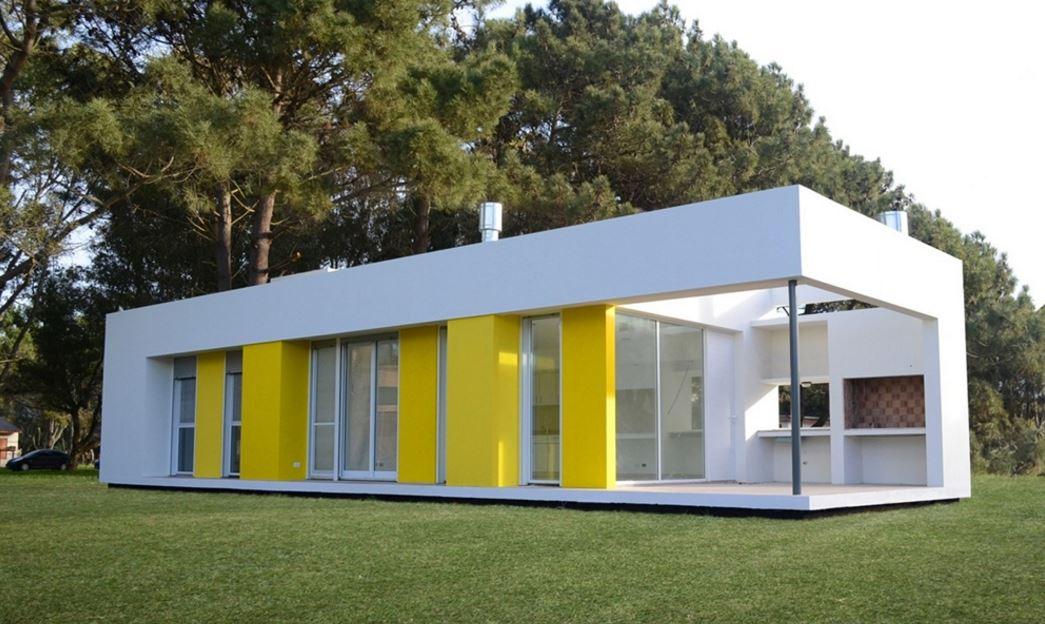 Fachadas de casas for Fachadas casas color arena
