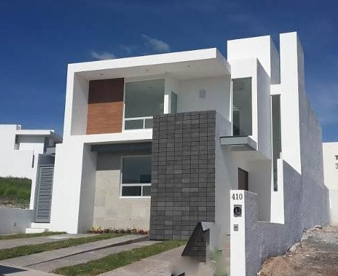 Frentes de casas for Casas modernas de dos pisos 2017