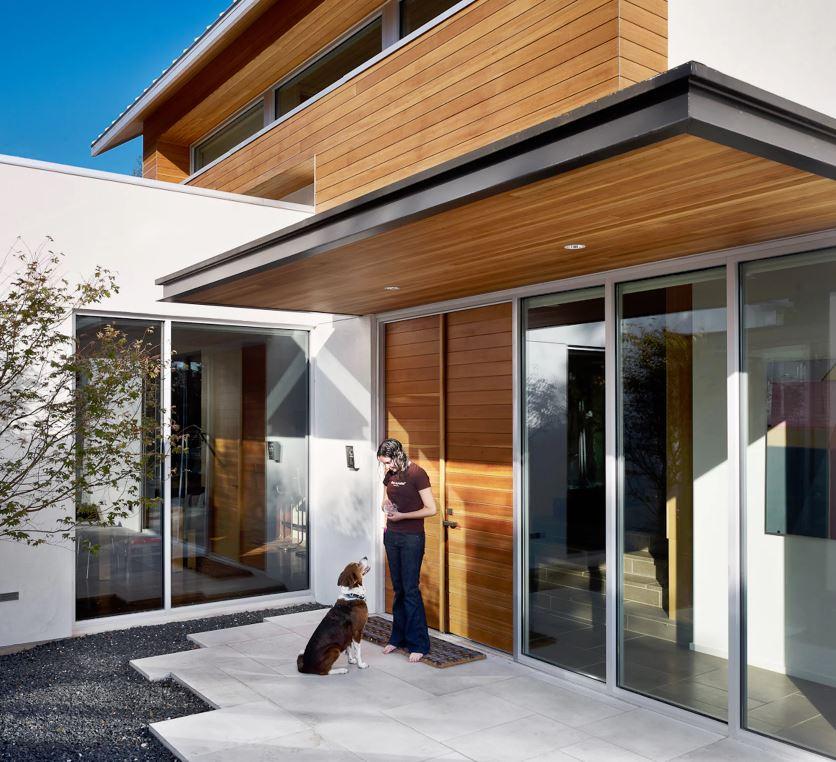 Ver fachadas de casas fachadas de casas estilos de frentes y contrafachadas - Casas de madera fotos ...