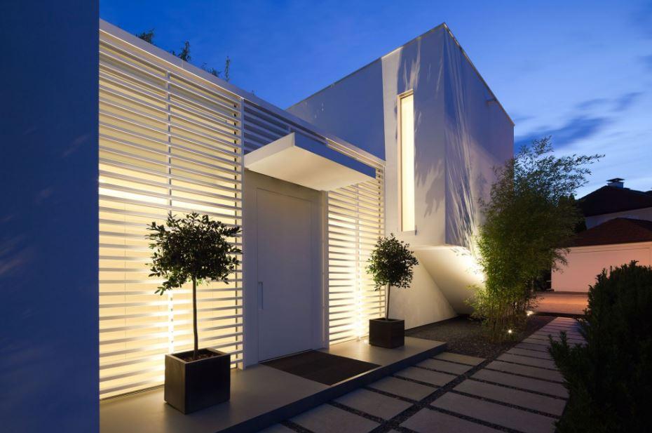 Rejas horizontales minimalistas - Rejas de casas modernas ...