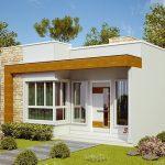 Fachadas de casas pequeñas de 8 metros de frente