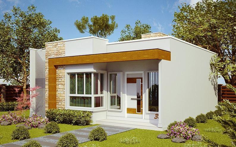 Ver fachadas de casas fachadas de casas estilos de for Fachadas de frente de casas