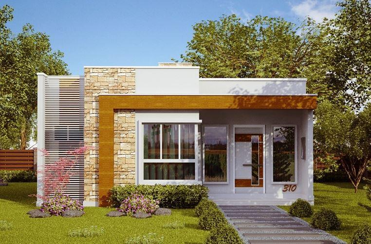 Fachadas de casas sencillas part 2 for Frentes de casas pequenas