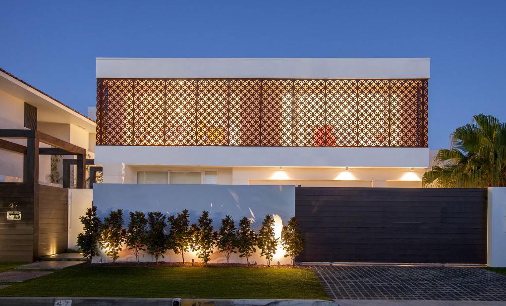 Materiales para fachadas exteriores latest casas modernas - Materiales para fachadas exteriores ...