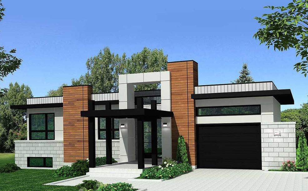 Ver fachadas de casas fachadas de casas estilos de for Planos y fachadas de casas modernas