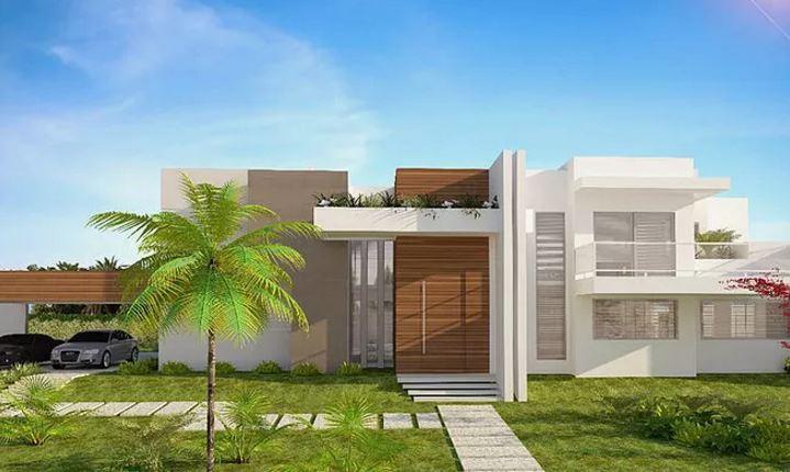 Ver fachadas de casas fachadas de casas estilos de frentes y contrafachadas for Casas con jardin