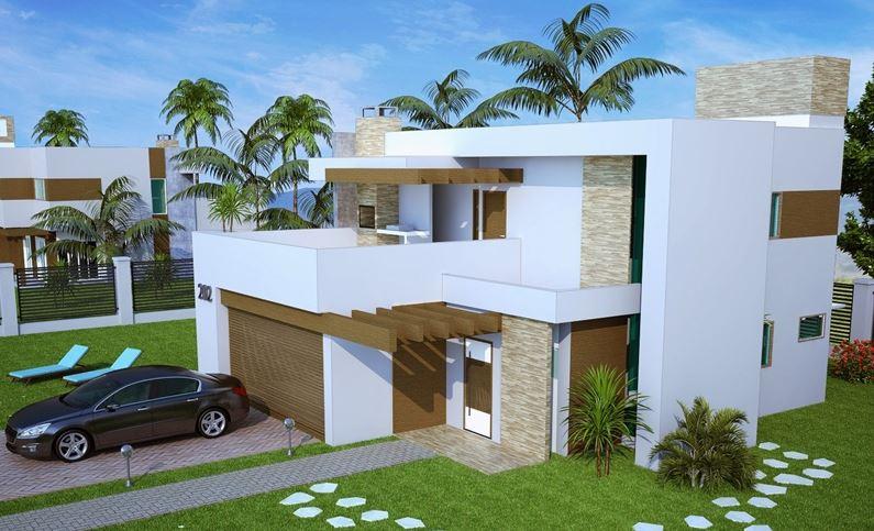 Diseo de casas de 2 pisos diseo de fachada casa moderna for Casas modernas 2 pisos