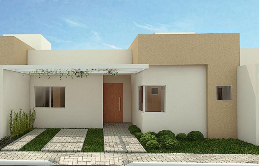 Fachadas de casas for Materiales para techos de casas