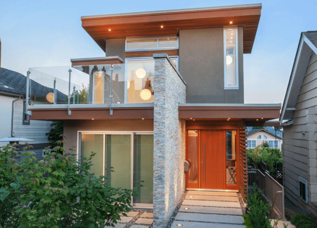 Ver fachadas de casas fachadas de casas estilos de for Casas chicas bonitas