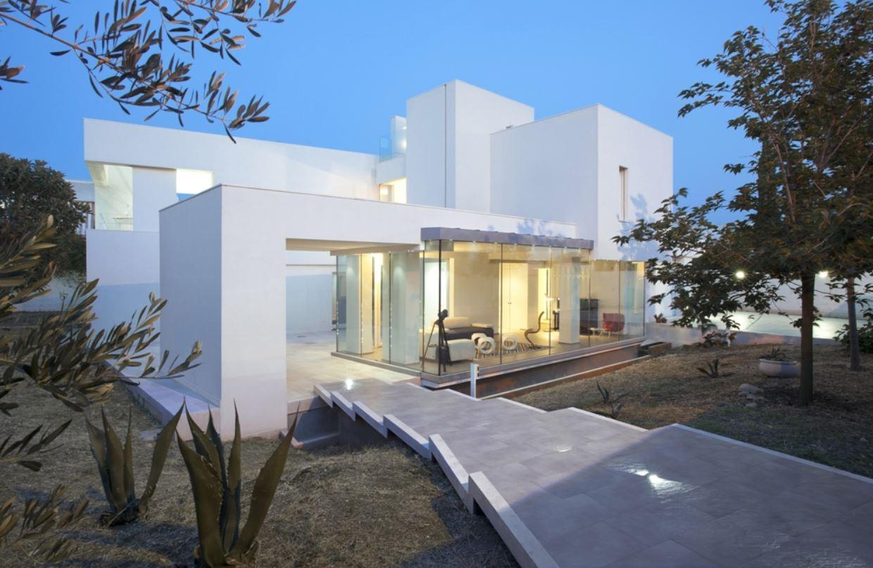Fachadas de casas minimalistas de dos plantas - Fachada de casas de dos plantas ...