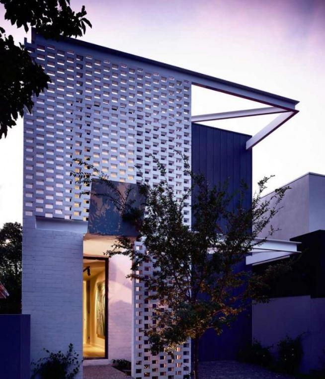 Fachadas de casas de 2 pisos for Frente de casas de dos pisos