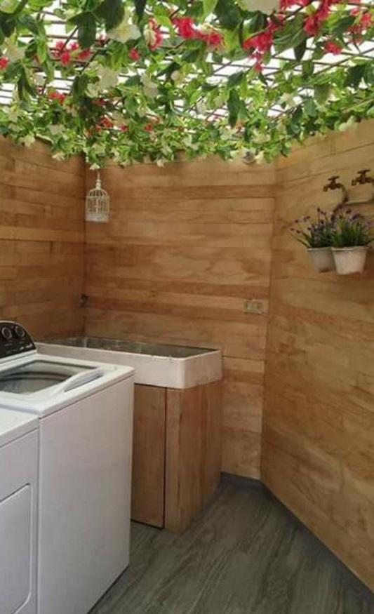 Ver fachadas de casas fachadas de casas estilos de for Patio con lavadero