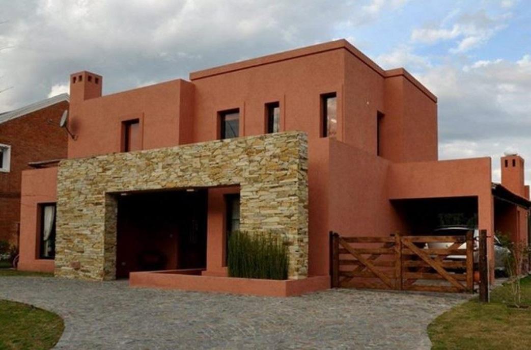 Ver fachadas de casas fachadas de casas estilos de for Fachadas de casas de barrio