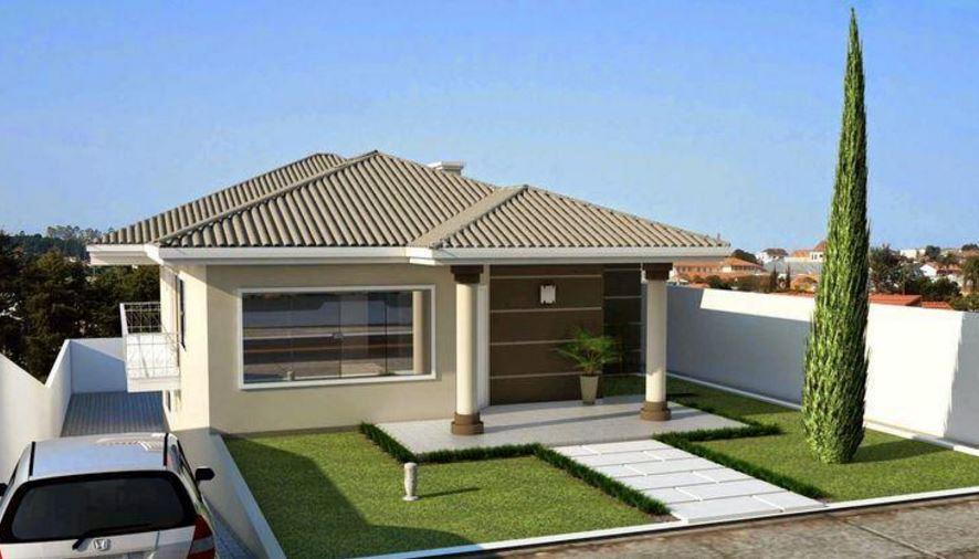 Fachadas de casas peque as 2017 for Casas pequenas modernas y bonitas