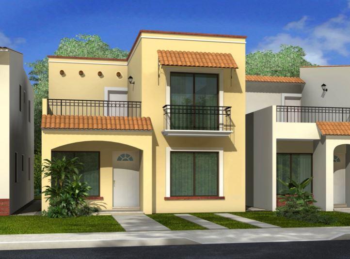Fachadas de casas de 2 pisos for Pisos elegantes para casas