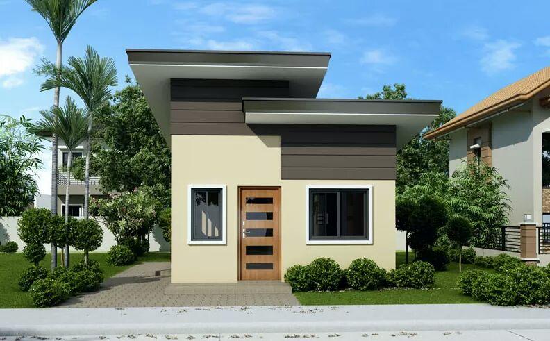 Fachadas de casas sencillas for Casas pequenas y bonitas