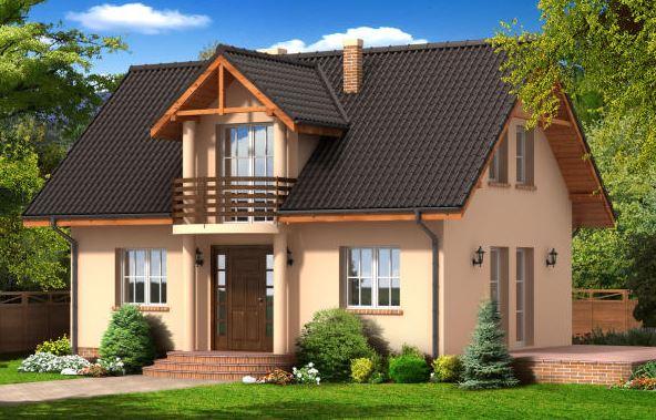 Fachadas de casas de 2 pisos for Casas con entradas bonitas