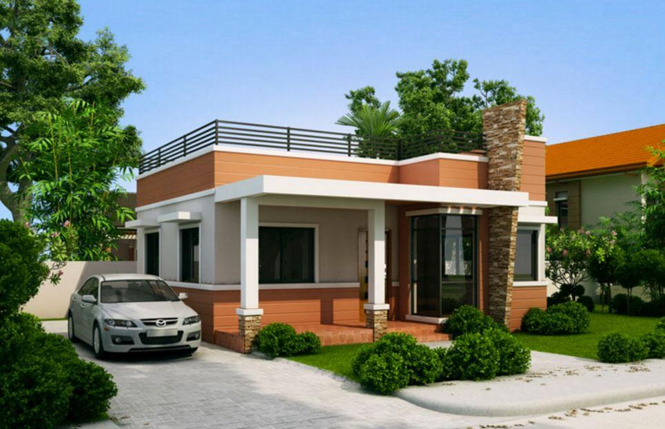 Fachadas de casas sencillas for Casas para terrazas