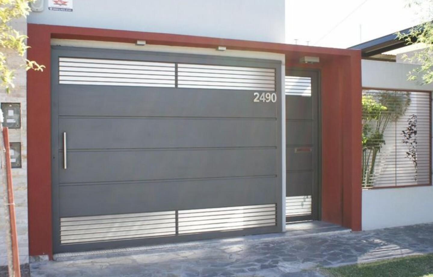 Portones de garaje top puerta garaje de aluminio with for Portones de garaje