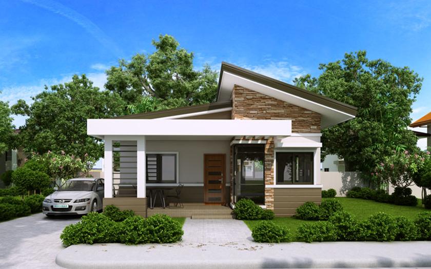 Fachadas con formas geom tricas for Figuras para techos de casas