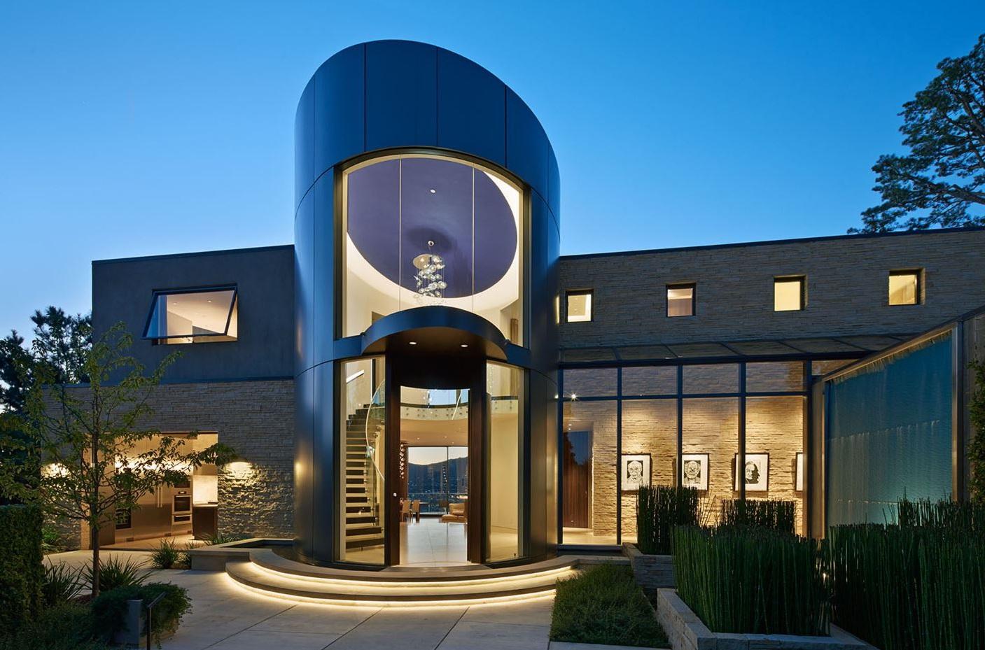 Fachadas de casas de 2 pisos part 4 - Fachadas de casas de lujo ...