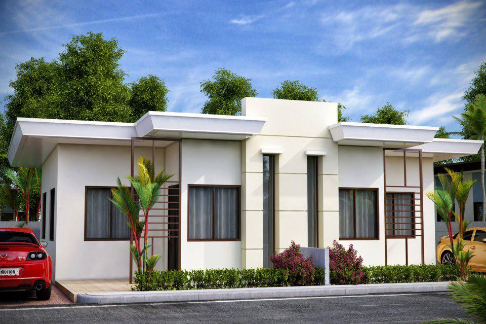 Fachadas de casas sencillas for Fachadas de casas de una planta