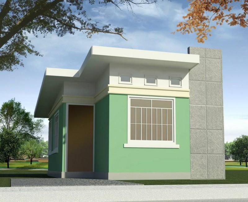 Fachadas de casas sencillas for Fachadas para casas pequenas de dos pisos