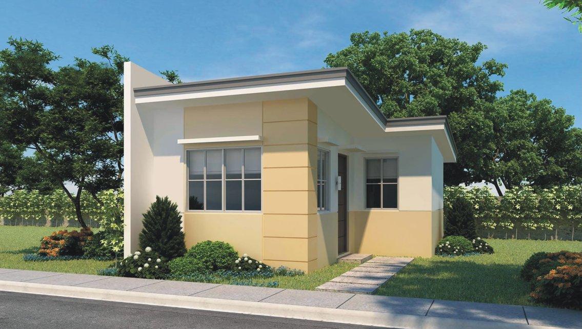Fachadas de casas sencillas for Viviendas pequenas
