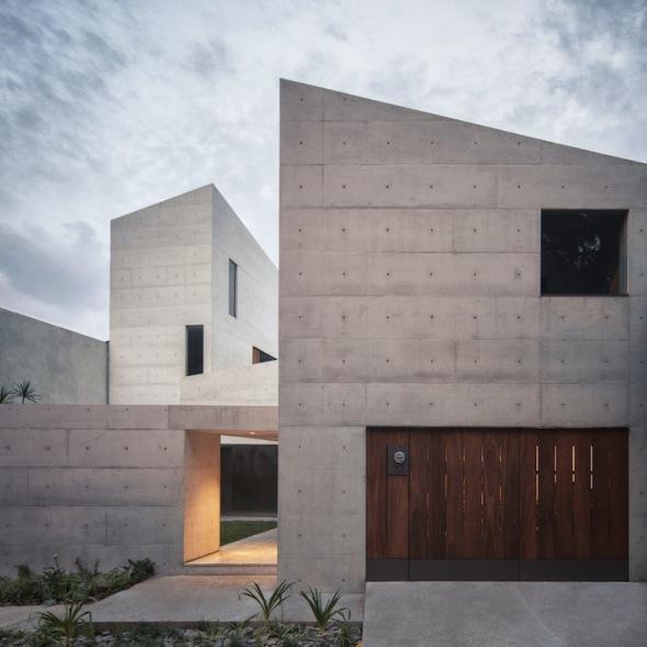 Fachadas de casas rusticas - Casa de hormigon ...