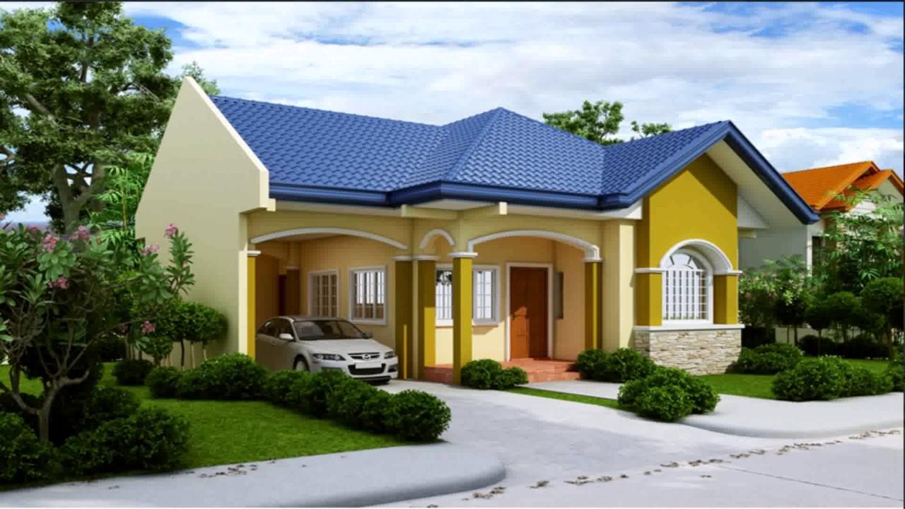 Fachadas de casas sencillas for Pisos para cochera