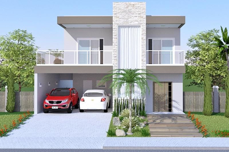 Frentes de casas - Rejas para balcones ...