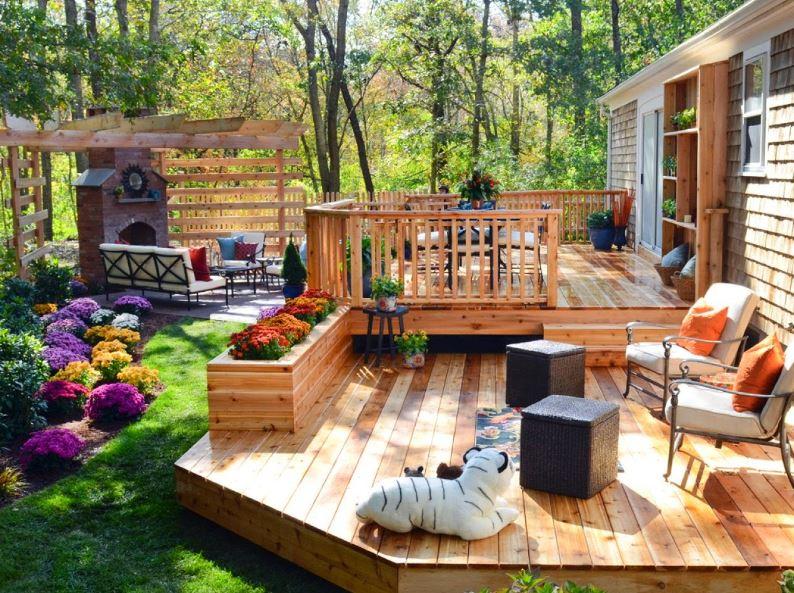 Pisos de madera para exteriores - Madera para exteriores ...