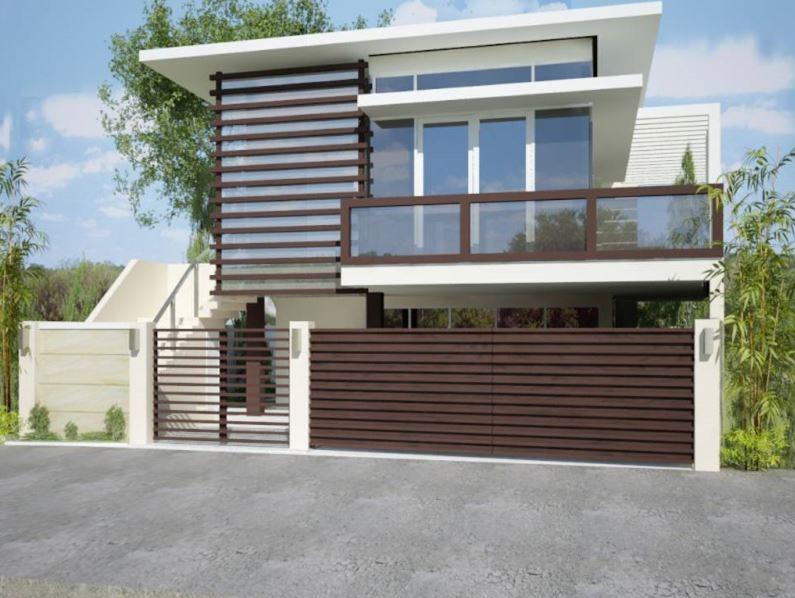 Fotos de casas modernas por fuera trendy muchas veces se for Escaleras por fuera de la casa