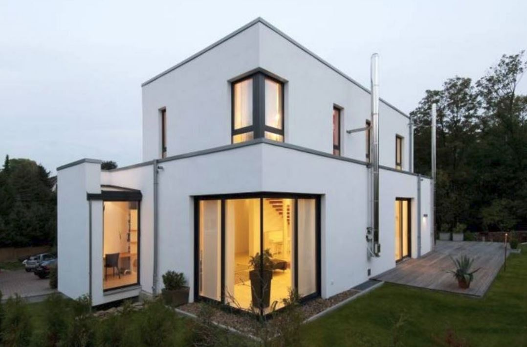 Ver fachadas de casas fachadas de casas estilos de for Pisos para casas minimalistas