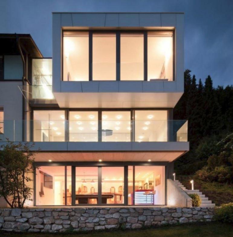 Fachadas de casas de 1 piso for Fachadas de casas minimalistas de 3 pisos