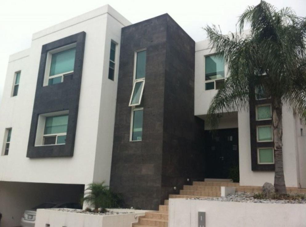 Fachadas con cantera for Frentes de casas minimalistas fotos
