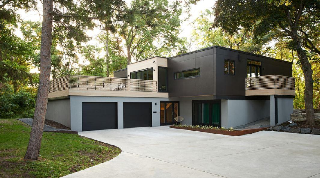 Aberturas para fachadas for Fachadas de casas con porton