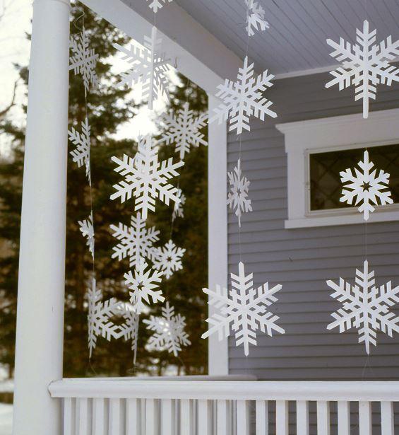 Ver fachadas de casas fachadas de casas estilos de for Decoracion de navidad para ventanas y puertas